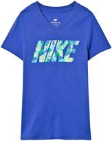 Nike Blue Palm Tee