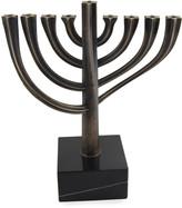 N. Bronze Twisted Menorah