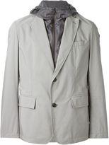 Moncler layered lightweight blazer - men - Polyamide/Polyester - 2