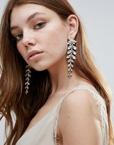 Johnny Loves Rosie Statement Shoulder Duster Strand Earrings