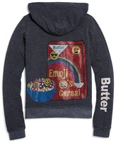 Butter Shoes Girls' Rhinestud Cereal Hoodie - Sizes S-XL