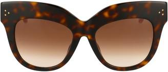 Linda Farrow Dunaway Oversized Sunglasses