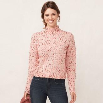 Lauren Conrad Women's Funnel Neck Sweater