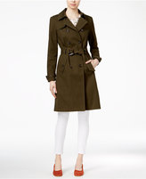 Maison Jules Belted Trench Coat, Only at Macy's