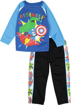 Children's Apparel Network Avengers Tee & Sweatpants - Toddler & Boys