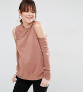 Asos Cold Shoulder Sweatshirt