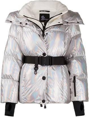 MONCLER GRENOBLE Metallic-Effect Padded Jacket