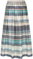 Semi-Couture Semicouture plaid A-line midi skirt