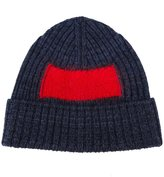 Oamc contrast square beanie