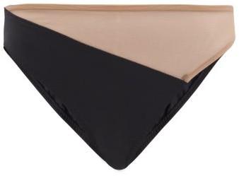 Thumbnail for your product : Norma Kamali Snake Mesh-insert Bikini Briefs - Black