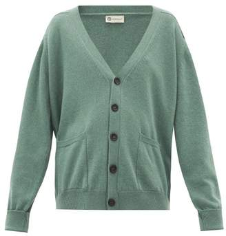 Connolly - V-neck Cashmere Cardigan - Womens - Green