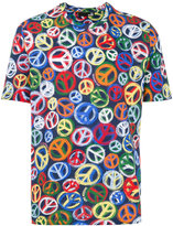 Love Moschino peace and love T-shirt - men - Cotton - S