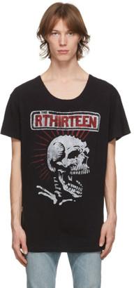 R 13 Black Lukas T-Shirt