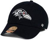 '47 Baltimore Ravens Black White Franchise Cap