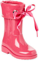 Igor Toddler/Kids Girls) Fuchsia Campera Satin-Bow Rain Boots