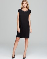 Studio Lisetta Knit Dress with Embellished Collar
