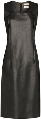 Bottega Veneta Fitted leather dress