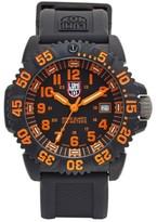 Luminox Men's 'Sea - Navy Seal Colormark' Silicone Strap Watch, 43Mm