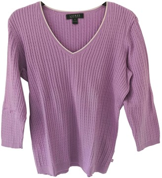 Lauren Ralph Lauren Purple Cotton Knitwear for Women