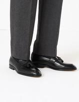Marks and Spencer Leather Saddle Tassel Loafers