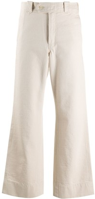 Barena High-Rise Wide-Leg Jeans