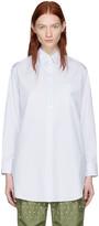 Junya Watanabe White Striped Shirt