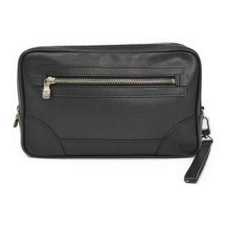 Louis Vuitton Khaki Cloth Clutch bags