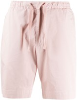 Officine Generale drawstring fitted shorts