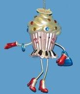 """Kurt Adler 5"""" Cupcake Heaven """"Little Miss Spoiled"""" Girly Character Christmas Ornament"""
