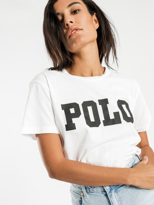 Polo Ralph Lauren Big Polo Logo T-Shirt in White