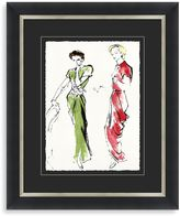 STUDY Fashion Framed Art 1