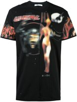 Givenchy 'Heavy Metal' pieced T-shirt