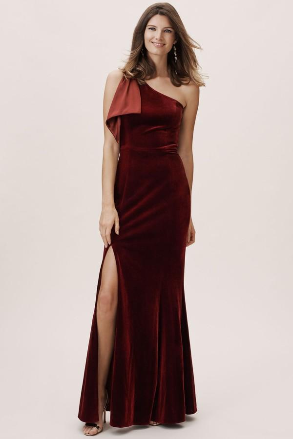 BHLDN Britta Velvet Dress