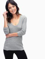 Splendid Thermal V-Neck Pullover