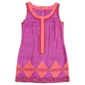 Anna Sui Purple Linen Dresses