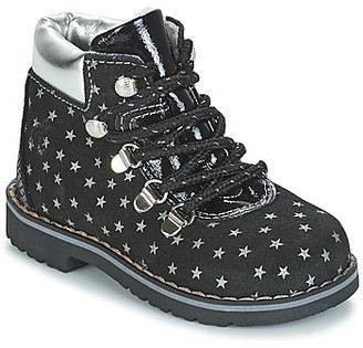 Citrouille et Compagnie JORDA girls's Mid Boots in Black