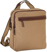 Jack Georges Canvas Convertible Backpack/Crossbody Bag