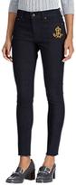 Lauren Ralph Lauren Premier Skinny Cropped Jeans, Midnight Haze Wash
