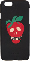 Paul Smith Black Strawberry Skull Iphone 6 Case