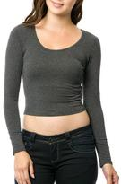 Ambiance Long Sleeve Crop Top