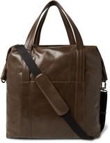 Maison Margiela Grained-Leather Holdall