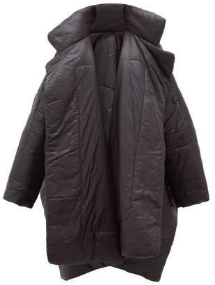 Norma Kamali Sleeping Bag Reversible Coat - Womens - Black