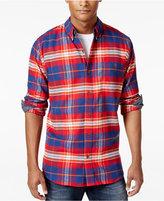 Weatherproof Vintage Men's Plaid Flannel Shirt, Classic Fit