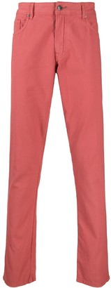 Hackett Five Pocket Straight-Leg Jeans