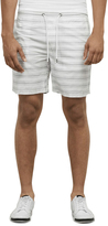 Kenneth Cole Striped Pull-On Short