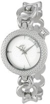 Just Cavalli Women's R7253137615 Lily Round Stainless Steel Silver Dial Watch