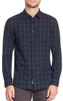 Rag & Bone Plaid Cotton Shirt