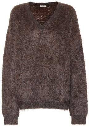 Miu Miu Mohair-blend sweater