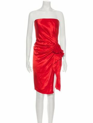 Lanvin 2015 Mini Dress w/ Tags Red