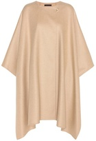 The Row Marcella Virgin Wool, Cashmere And Silk Cape